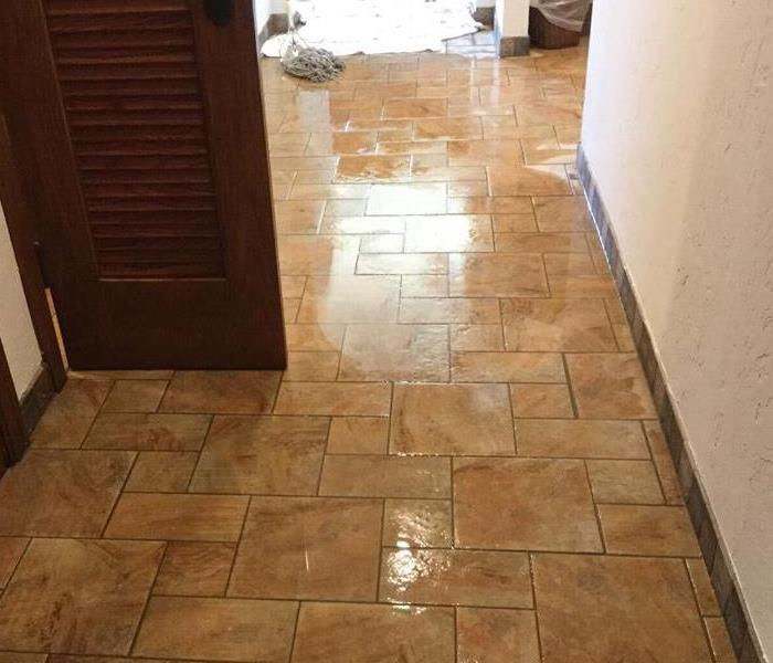 Commercial Water Damage in Victoria, Texas Before