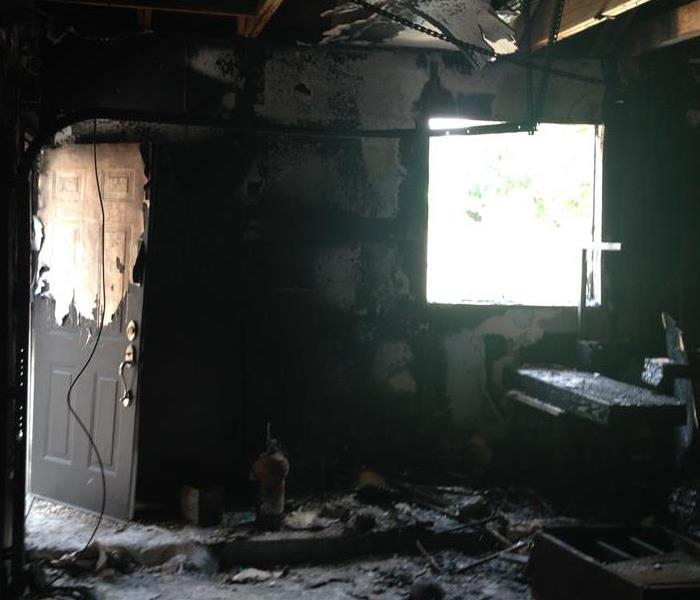 Fire Damage in Victoria, Texas