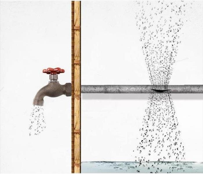 Water Damage Pipe Freeze Prevention
